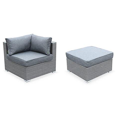 Nice Salon De Jardin Resine Structure Alu #4: Alices-Garden-Salon-de-jardin-en-rsine-tresse-Caligari-Gris-Coussins-Gris-5-places-1-fauteuil-1-fauteuil-sans-accoudoir-1-pouf-2-fauteuils-dangle-une-table-basse-0-1.jpg