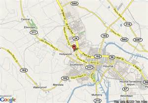 Houma Louisiana Map by Map Of Quality Hotel Houma Houma