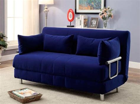 blue fabric sofas blue fabric sofa sleeper fa762 sofa beds