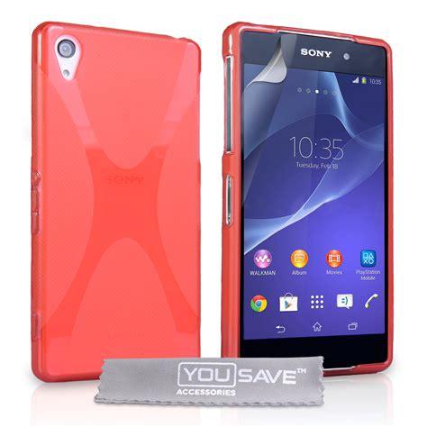 Silicon Casing Softcase Line Sony Xperia Z2 Mini yousave accessories sony xperia z2 silicone gel x line