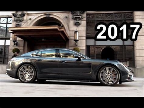 porsche panamera 2017 exterior 2017 porsche panamera exterior interior and drive youtube