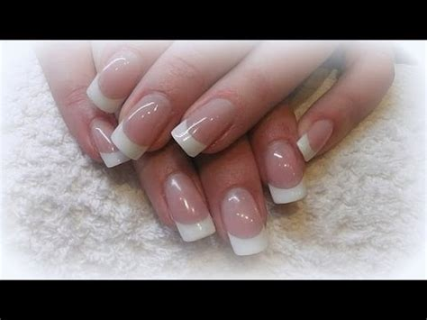 tutorial nail art french gel how to gel nail tutorial step by step youtube