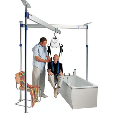 ceiling lifts for patients bhm voyager portable ceiling lift model 98000