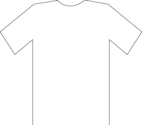 T Shirt Sketch Cakecentral Com T Shirt Template Sketch