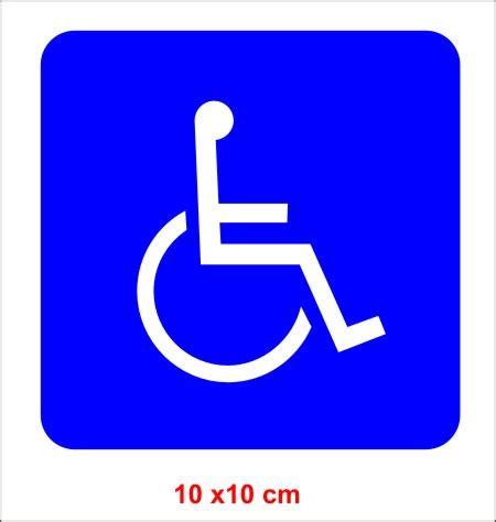 Autoaufkleber Nass Oder Trocken Verkleben by Rollstuhlfahrer Aufkleber Behinderter Autoaufkleber