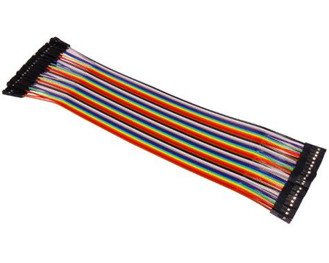 Kabel Jumper Dupont 20cm Isi 1pcs Breadboard Arduino Wire 40stk 20cm jumper kabel f 252 r breadboard dupont wire drahtbr 252 cken steckbr 252 cken ebay