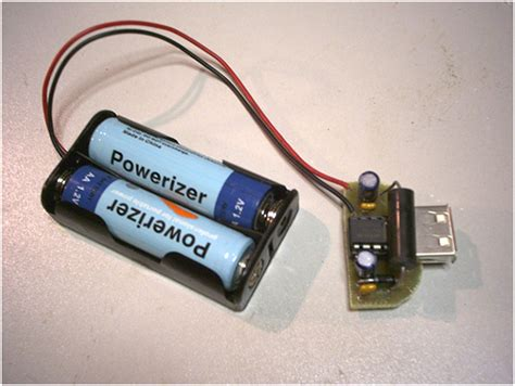 usb powered aa battery charger aa battery powered power bank