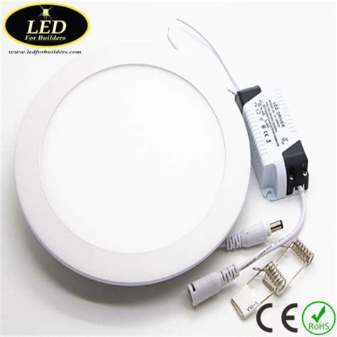 Led Panel Light 6 Watt led for buildersled recessed can light 12 watt 5000k led