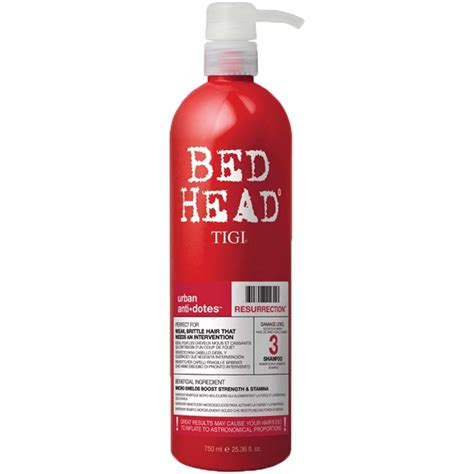 bed head tigi shoo tigi bed head urban antidotes resurrection shoo tigi tigi