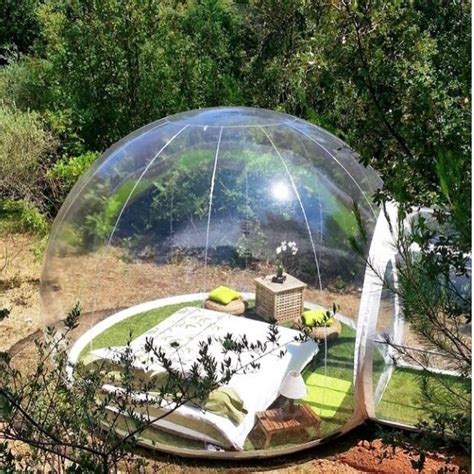bubble tent outdoor living bubble tents at first blink
