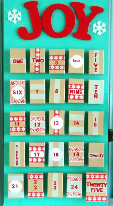 make your own advent calendars make your own advent calendar the pretty bee
