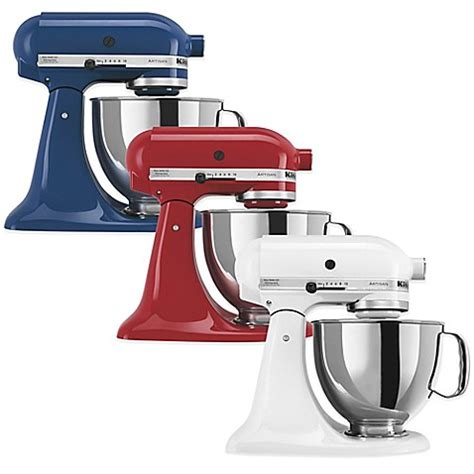 kitchenaid 174 artisan 174 5 qt stand mixer bed bath beyond