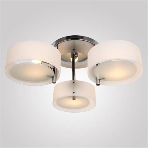 Flush Pendant Ceiling Light Best Acrylic Chandelier 3 Lights Ceiling Light Fixture Flush Mount Bedroom Ebay