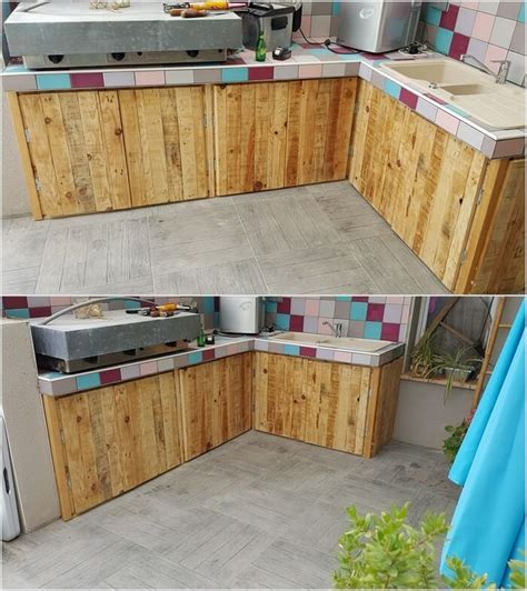 wood used for kitchen cabinets feasible pallet ideas with used shipping pallets pallet