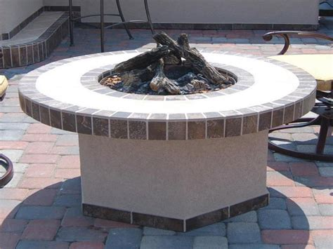 outdoor how to build quality outdoor propane pit