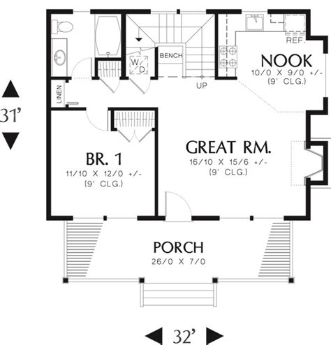 house plan inspirational 950 sq ft house plans in ind log style house plan 1 beds 1 baths 950 sq ft plan 48 303