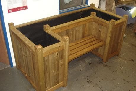 garden bench with planters pin by bre w casey on barns and rustic ideas pinterest