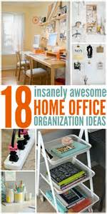 Awesome Home Office 18 insanely awesome home office organization ideas