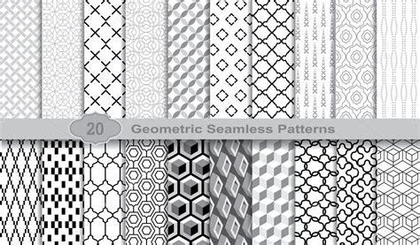 seamless pattern ai file geometric seamless patterns pattern swatches included