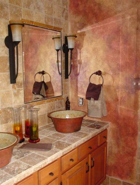 toskanische badezimmer dekorieren ideen badezimmergestaltung wie sie ihr bad im mediterranen