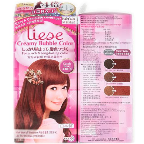 Liese Prettia Japan New Packaging Soft Brown kao japan liese foaming hair color kit cassis berry