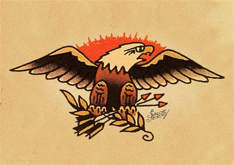 sailor jerry eagle tattoo sailor jerry pin up flash