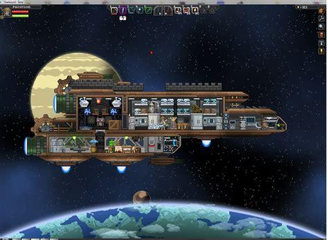 ship upgrades starbound technological small ship glitch at starbound nexus mods