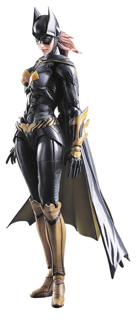 Ngpa68 Play Arts Batgirl Arkham Batman Dc Comics dc comics batman arkham play arts batgirl