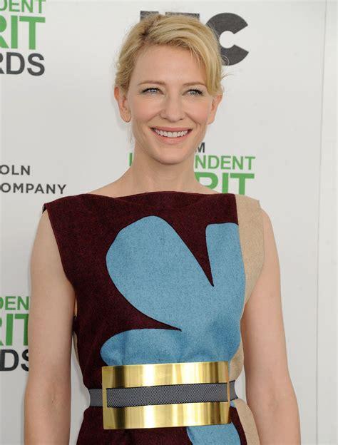 Independent Spirit Awards Cate Blanchett by Cate Blanchett At 2014 Independent Spirit Awards In