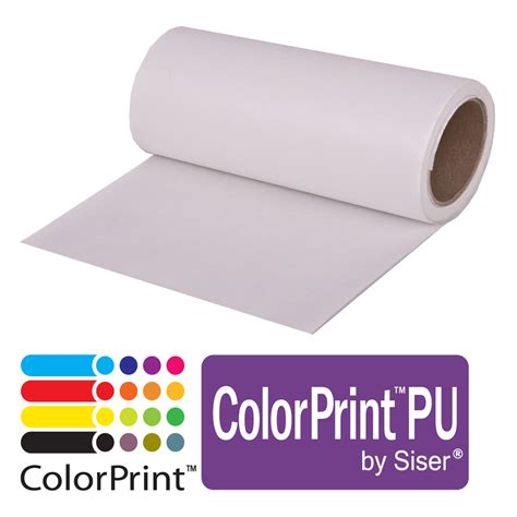 printable heat transfer vinyl reviews siser colorprint pu heat transfer material
