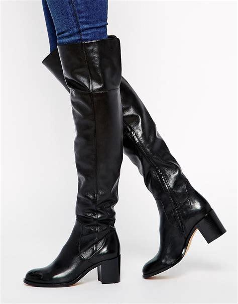 sam edelman the knee boots sam edelman sam edelman joplin the knee boots at asos