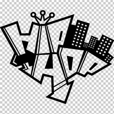 library  hip hop graffiti graphic black  whites png
