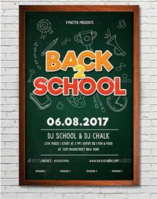 free school flyer templates 19 back to school flyers free psd ai eps format
