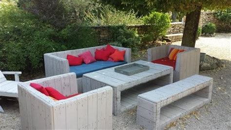 Handmade Outdoor Furniture - diy garden furniture ideas of me