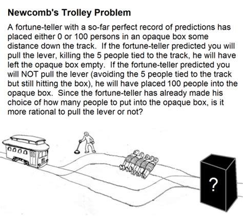 trolley problem or would trolley problem on