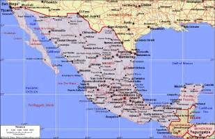 A Map Of Mexico by Map Of Mexico Map State