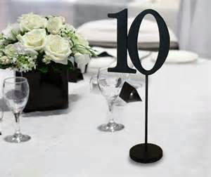 table numbers wedding wedding table numbers for weddings and events wood black