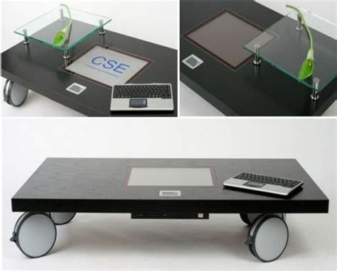 computer coffee table multimedia computer coffee table hometone
