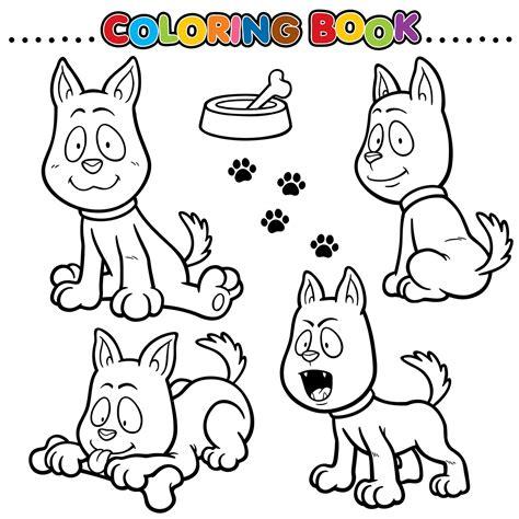 imagenes de animales para iluminar dibujos de perros para colorear todo razas de perros