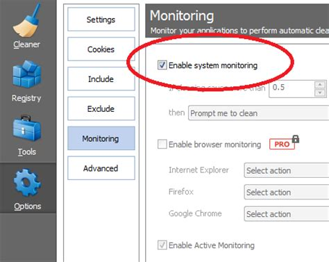 ccleaner enable active monitoring loza s blog remove ccleaner in system tray when computer