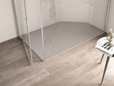 piatto doccia su misura prezzi abbinare piatto doccia e lavabo con aquatek e pietragel
