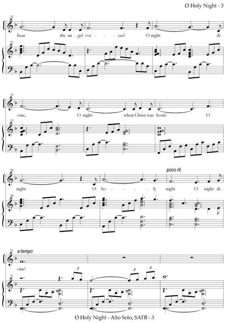 O Holy Night (Vocal Solo and Choir - Zabriskie) - Holy