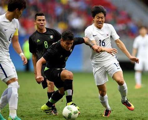 mexico vs corea sur resultados m 233 xico vs corea sur 2016 juegos ol 237 mpicos