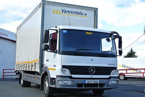 Box Rental Dublin - vanrentals ie large box hgv truck