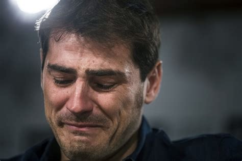 imagenes de gente llorando ai real madrid are paying two thirds of iker casillasai