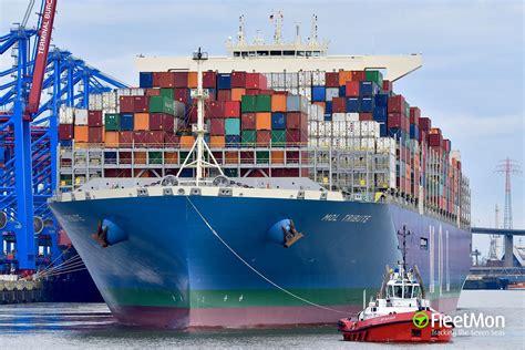 mol tribute container ship imo