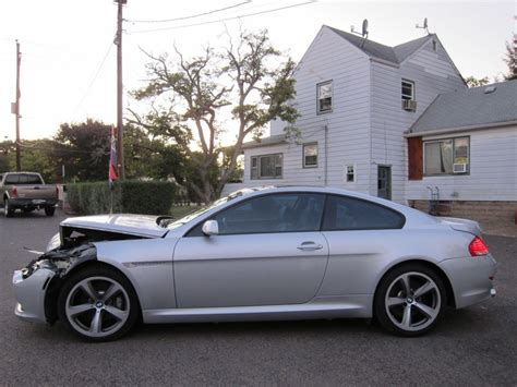 bmw damaged repairable cars for sale loaded 2008 bmw 6 series 650i repairable for sale