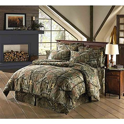 mossy oak bedroom mossy oak infinity bedding comforter set walmart com