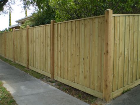 1 s wacker dr 3d floor lapped timber paling fence solid finish services in