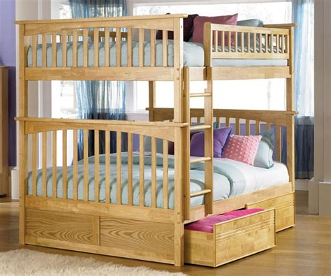 full size bunk bed columbia full over full bunk bed naturalmaple bedroom